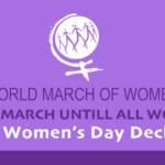 International Women's Day Declaration