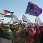 We march in solidarity with the saharaui women