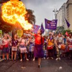 Women in the streets: launching the 5th International Action on March 8