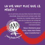 24 avril - 24 heures de solidarité féministe contre les sociétés transnationales