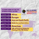 Closing week of the 5th International Action!