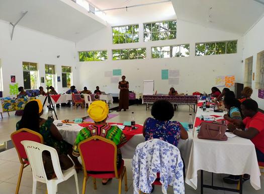 Political education and movement building in Kisumu, Kenya.