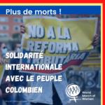Solidarité internationale avec le peuple de Colombie
