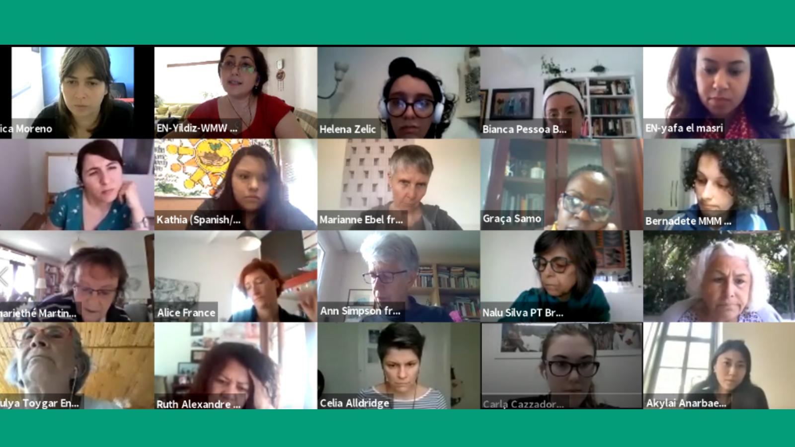 Migraciones y Refugio en la agenda feminista es el tema de debate en el webinar de la Marcha Mundial de las Mujeres y Capire
