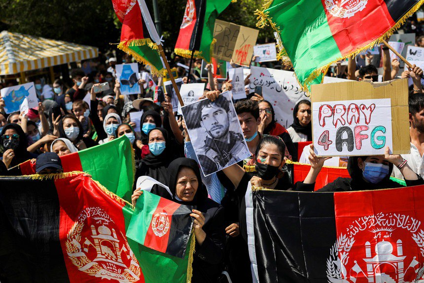 Solidarité féministe internationale avec les femmes et le peuple d'Afghanistan : Non aux talibans Non aux impérialistes !